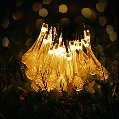 お買い得  LED ストリングライト-GMY® 6m ストリングライト 30 LED 6Mストリングライト 温白色 装飾用 <5 V 1セット / IP65