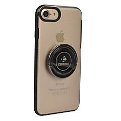 billige iPhone-etuier-Etui Til Apple iPhone 8 iPhone 8 Plus Ringholder Helfarve Hårdt for Apple