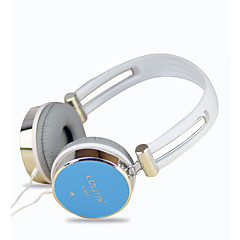 cheap Headsets & Headphones-LIZU LZ-809 Headband Wired Headphones Dynamic Copper Mobile Phone Earphone with Microphone Headset