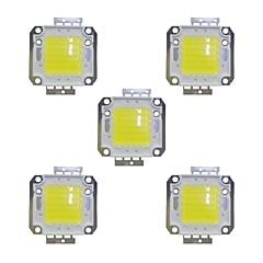 olcso LED-ek-5pcs 3800 LED Chip Sárgaréz Izzó tartozék 50 W