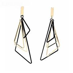 preiswerte Ohrringe-Damen Tropfen-Ohrringe - Einfach, Klassisch, Modisch Gold / Silber Für Alltag