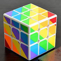 hesapli -Sihirli küp IQ Cube YONG JUN Alien Eşsiz Küp 3*3*3 Pürüzsüz Hız Küp Sihirli Küpler bulmaca küp profesyonel Seviye Hız Klasik & Zamansız Çocuklar için Yetişkin Oyuncaklar Genç Erkek Genç Kız Hediye