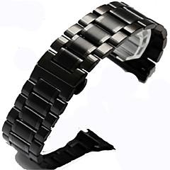 abordables Accesorios para Apple Watch-Ver Banda para Apple Watch Series 4/3/2/1 Apple Hebilla Clásica Acero Correa de Muñeca