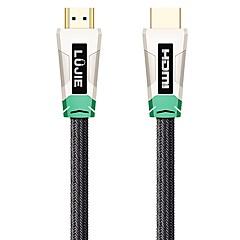 LUJIE HDMI 2.0 Kabel, HDMI 2.0 to HDMI 2.0 Kabel Han - Han 1080P Forgyldt kobber 10,0 mio (30ft)