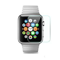 abordables Accesorios para Apple Watch-Protector de pantalla Para 38mm iWatch 42mm iWatch Vidrio Templado A prueba de explosión Alta definición (HD) 1 pieza