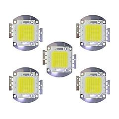 halpa LED:t-70w talli 5600lm 3000-3200k / 6000-6200k lämmin valkoinen / valkoinen led-siru dc30-36v 5kpl