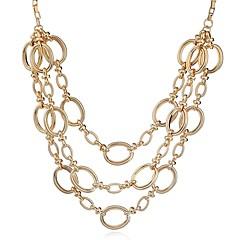 preiswerte Halsketten-Damen Ketten / Layered Ketten - Modisch, überdimensional Gold, Silber Modische Halsketten Schmuck 1 Für Alltag, Arbeit