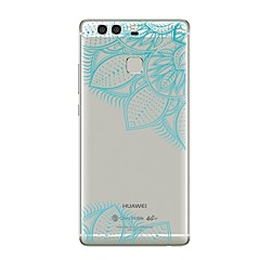 Недорогие Чехлы и кейсы для Huawei Mate-Кейс для Назначение Huawei P9 Huawei P9 Lite Huawei P8 Huawei Huawei P9 Plus Huawei P8 Lite Huawei Mate 8 P9 P10 Прозрачный С узором Кейс