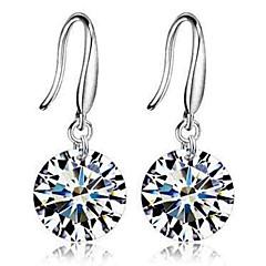 preiswerte Ohrringe-Damen Kubikzirkonia Kronleuchter Tropfen-Ohrringe - Zirkon Klassisch, Modisch Silber Für Alltag Zeremonie