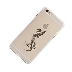 お買い得  iPhone 6 Plus ケース-ケース 用途 Apple iPhone 6 Plus パターン バックカバー フクロウ ソフト PC のために iPhone 6s Plus iPhone 6 Plus