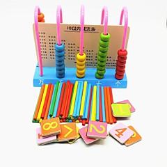 abordables Juguetes de la matemáticas-Colegio Diseñado Especial Familia De madera Compuestos de madera y plástico Nuevo diseño Piezas Niños Regalo