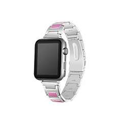 Χαμηλού Κόστους Μπρασελέ για ρολόγια Apple-Παρακολουθήστε Band για Apple Watch Series 3 / 2 / 1 Apple Μοντέρνο Κούμπωμα Μέταλλο Κεραμικό Λουράκι Καρπού