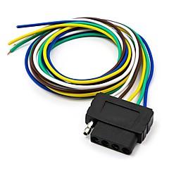 abordables Herramientas y Equipos de Diagnóstico-Zócalo del conector de extensión del arnés de cable plano del remolque de 5 vías