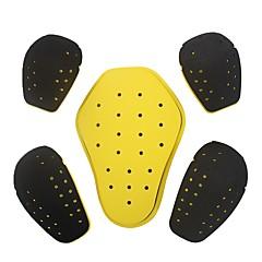 abordables Ropa de Protección-herobiker protector de carreras de motos eva alta espuma de motocross hombros codos espalda 5 piezas de equipo de protección