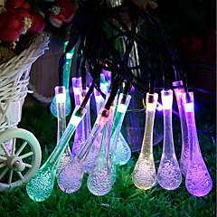 preiswerte LED Lichtstreifen-GMY® 6m Leuchtgirlanden 30 LEDs 6M Lichterkette Mehrfarbig Dekorativ <5 V 1set / IP65