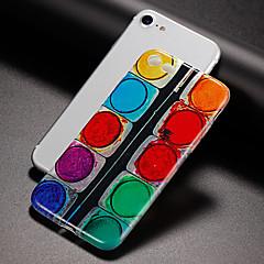 voordelige iPhone 4s / 4 hoesjes-hoesje Voor Apple iPhone X iPhone 8 Ultradun Patroon Achterkantje Geometrisch patroon Zacht TPU voor iPhone X iPhone 8 Plus iPhone 8