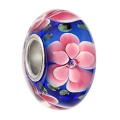 olcso Gyöngyök és ékszerkészítés-DIY ékszerek 5 Perlice Fekete Gyöngy rózsaszín Világoskék Tengerészkék Kör üveggyöngy 0.45 DIY Karkötők Nyakláncok
