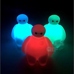 abordables Juguetes con Iluminación-Iluminación LED Juguetes Animal De moda Luminoso Iluminación Color Cambiante Plástico blando Niños Piezas