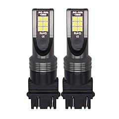 abordables Luces de Circulación Diurna-2pcs Bombillas 12W SMD LED 12 Luz de Circulación Diurna For Jeep / Toyota Tundra / Compass 2018 / 2017 / 2016