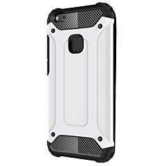 tanie Etui / Pokrowce do Huawei-Kılıf Na Huawei P10 Lite P10 Odporne na wstrząsy Czarne etui Zbroja Twarde Metal na P10 Plus P10 Lite P10 P8 Lite (2017)