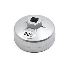 お買い得  故障診断機器&ツール-アルミ合金15フルート73mm内径キャップタイプオイルフィルターレンチ(ミツビシ用)