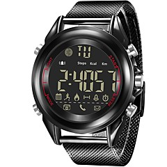 Χαμηλού Κόστους Έξυπνα ρολόγια-Έξυπνο ρολόι Λειτουργεί με σύστημα iOS και Android. Θερμίδες που Κάηκαν Υπενθύμιση Μηνύματος Υπενθύμιση Κλήσης Καθημερινό Ρολόι