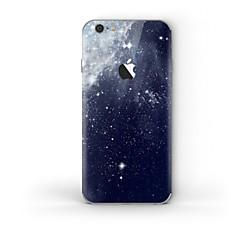 billige iPhone-klistermærker-1 stk Hud Klistermærke for Ridsnings-Sikker Himmel Mønster PVC iPhone 6s Plus/6 Plus