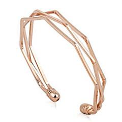 preiswerte Armbänder-Damen Manschetten-Armbänder - Modisch Armbänder Schwarz / Silber / Rotgold Für Alltag / Ausgehen