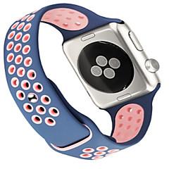 abordables Bracelets Apple Watch-Bracelet de Montre  pour Apple Watch Series 3 / 2 / 1 Apple Boucle Moderne Silikon Sangle de Poignet
