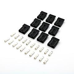 お買い得  故障診断機器&ツール-10×黒50ampバッテリークイックコネクター車のキャラバン用冷蔵庫バッテリーチャージャー用プラグ