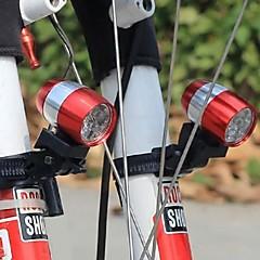 preiswerte Ausgefallene LED-Beleuchtung-fahrrad licht mountainbike warnleuchten 6led scheinwerfer energiesparende ultrahelle front led taschenlampe radfahren licht