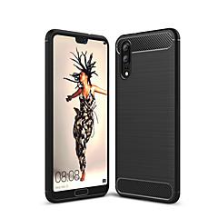 お買い得  Huawei Pシリーズケース/ カバー-ケース 用途 Huawei P20 lite P20 耐衝撃 バックカバー 純色 ソフト TPU のために Huawei P20 lite Huawei P20 Pro Huawei P20 P10 Plus P10 Lite P10 P8 Lite (2017)