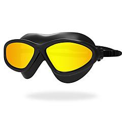 abordables Gafas de Natación-Gafas de natación Anti vaho Anti desgaste Anti-UV Resistente a rayaduras A prueba de dispersión Correa anti deslizante Impermeable Cromado