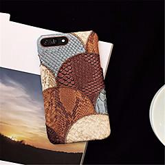 Недорогие Кейсы для iPhone 6 Plus-Кейс для Назначение Apple iPhone X iPhone 7 Plus С узором Кейс на заднюю панель Геометрический рисунок Твердый ПК для iPhone X iPhone 8