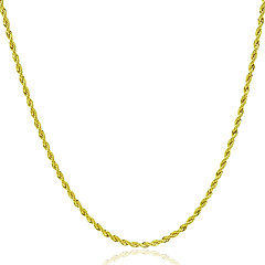 Недорогие Ожерелья-Муж. Жен. Ожерелья-цепочки - Камни, Мода Золотой Ожерелье Бижутерия 1шт Назначение Подарок, Повседневные