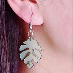 Χαμηλού Κόστους Σκουλαρίκια Κρίκοι-Γυναικεία Κρεμαστά Σκουλαρίκια Κρίκοι Ακρυλικό Καθημερινό Μοντέρνα Ακρυλικό Leaf Shape Κοσμήματα Καθημερινά Δουλειά Κοστούμια Κοσμήματα