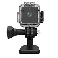 abordables Cámaras IP-veskys® 1080p sq12 mini dv acción cámara grabadora deporte exterior dv / 30m cáscara impermeable micro videocámara / 155 ángulo / visión nocturna