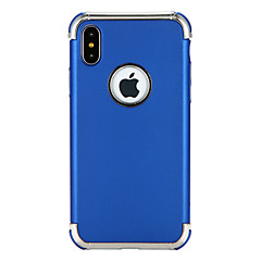Недорогие Кейсы для iPhone-Кейс для Назначение Apple iPhone X iPhone 8 Защита от удара Покрытие Кейс на заднюю панель Сплошной цвет Мягкий ТПУ для iPhone X iPhone 8
