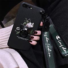Недорогие Кейсы для iPhone-Кейс для Назначение Apple iPhone X iPhone 7 Plus С узором Кейс на заднюю панель Цветы Мягкий Силикон для iPhone X iPhone 8 Pluss iPhone 8