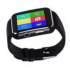 halpa Älykellot-Smart Watch Kosketusnäyttö Vedenkestävä Poltetut kalorit Askelmittarit Video Kamera Pitkä valmiustila Monikäyttö Tiedot Handsfree puhelut