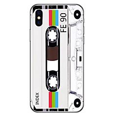 Недорогие Кейсы для iPhone 6 Plus-Кейс для Назначение Apple iPhone X / iPhone 8 Plus С узором Кейс на заднюю панель Мультипликация Мягкий ТПУ для iPhone X / iPhone 8 Pluss / iPhone 8