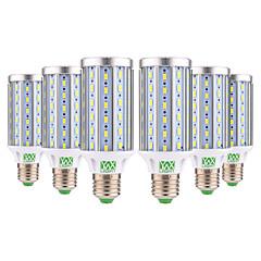 お買い得  LED 電球-YWXLIGHT® 6本 25W 2000-2500lm E26 / E27 LEDコーン型電球 T 72 LEDビーズ SMD 5730 装飾用 温白色 クールホワイト 85-265V