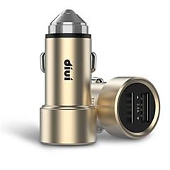 お買い得  スマートフォン用充電器-車載充電器 電話USB充電器 USB マルチシュッ力 QC 2.0 USBポート×2 3.1A DC 12V-24V