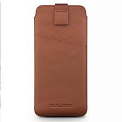 Недорогие Универсальные чехлы и сумочки-Кейс для Назначение SSamsung Galaxy А7 (2018) A7(2017) Бумажник для карт Защита от удара Мешочек Сплошной цвет Мягкий Настоящая кожа для