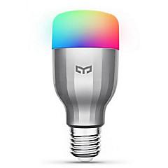 abordables Lo Más Popular-xiaomi yeelight 220v e27 smart led bulb16 millones de colores wifi habilitado trabajo con amazon alexa / google home
