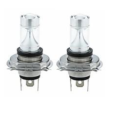 Недорогие Фары для мотоциклов-SENCART 2pcs H4 Мотоцикл / Автомобиль Лампы 30W Интегрированный LED 1200lm 6 Светодиодные лампы Внешние осветительные приборы For