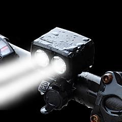 tanie -Przednia lampka rowerowa LED LED Kolarstwo Zaprojektowany specjalne Przenośny/a Z portem ładowania Ryzyko porażenia prądem Z wyłącznikiem