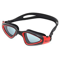 abordables Gafas de Natación-Gafas de natación Anti vaho Anti desgaste Tamaño Ajustable Anti-UV Resistente a rayaduras A prueba de dispersión Correa anti deslizante