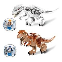 tanie -LELE Klocki Dinozaur Animals Animals Hračka Zabawki Prezent