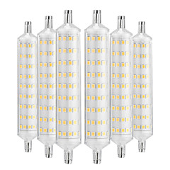 cheap LED Bulbs-YWXLIGHT® 6pcs 12W 1000-1200lm R7S LED Corn Lights 108 LED Beads SMD 2835 Decorative Warm White 220-240V